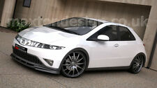 FRONT SPLITTER (GLOSS BLACK) - HONDA CIVIC MK8 PRE-FACE (2006-2009)