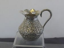 ARGENT MASSIF POT A LAIT ANSE SERPENT CHINESE SILVER 154 G.