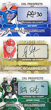 12-13 ITG Anthony Stolarz Auto Between The Pipes 2012 Knights CHL Prospects