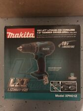 "New Sealed Makita 18V Lithium-Ion Cordless 1/2"" Hammer Driver Drill XPH01Z"