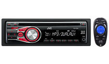 JVC KD-R330 In-Dash Car Stereo CD/MP3 Player Receiver w/ Dual Aux Inputs KDR330