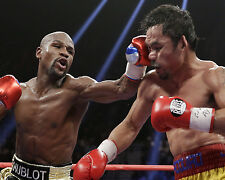 FLOYD MAYWEATHER JR. VS MANNY PACQUIAO BOXING 8x10 PHOTO