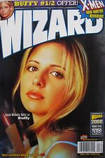 SARAH MICHELLE GELLAR  APRIL 1999 WIZARD Magazine X-MEN