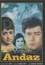 ANDAZ - SHAMMI KAPOOR, HEMA MALINI - NEW ORIGNAL BOLLYWOOD DVD – FREE UK POST