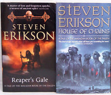 Englisch Fantasy 2x Steven Erikson Reaper's Gale / House of Chains