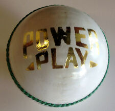 White Leather Cricket Balls - PowerPlay (Pack of SIX)