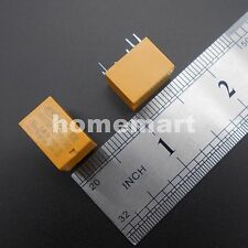 10PCS 12V Yellow HK4100F-DC12V-SHG Volt Power Relay DC12V 0.2W High Quality Type