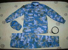 15's China PLA Navy Marines Soldier Digital Camo Combat Clothing,Set,Winter