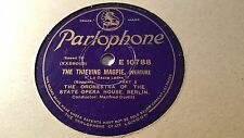 THE ORCH OF THE STATE OPERA HOUSE BERLIN THE THIEVING MAGPIE PARLOPHONE E10788
