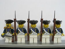 Lego PIRATES NAPOLEONIC WARS FRENCH Infantry Soldiers MINIFIGS