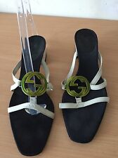 Gucci Summer Shoes, Low Heels, Size 37,5 Gorgeous!