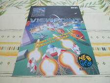 VIEW POINT VIEWPOINT NEO GEO SHOOT ORIGINAL JAPAN HANDBILL FLYER CHIRASHI!