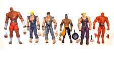 Jazwares Street Fighter Ryu Ken Guile El Fuerte Abel Sagat Loose Action Figure