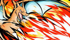 381 Pokemon Charizard PLAYMAT CUSTOM PLAY MAT ANIME PLAYMAT FREE SHIPPING