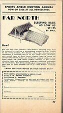 1951 Print Ad Far North Sleeping Bags Portland,Oregon