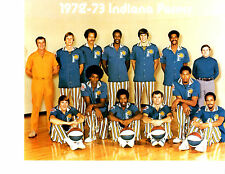 1972 1973 ABA INDIANA PACERS 8X10 TEAM  PHOTO  BASKETBALL MCGINNIS HOF