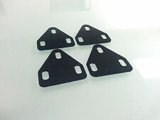 Universal pedal WEDGE shim Fits 3 hole cleat road bike shoes - 4 pcs 1.5 Degree