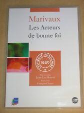 DVD COMEDIE FRANCAISE / LES ACTEURS DE BONNE FOI / MARIVAUX / COMME NEUF