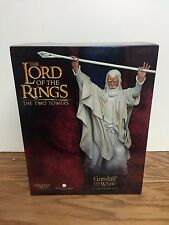 Gandalf the White ~ Lord of the Rings TTT Sideshow Weta 1/6 Polystone Figure NEW