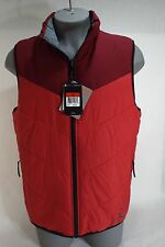"New Mens Large Nike ""Jordan Jumpman"" Red Winter Vest Jacket $120 623483-695"
