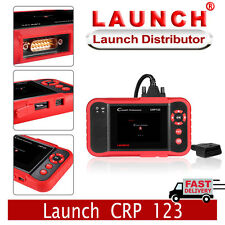 Original LAUNCH X431 CRP123 ENG/AT/ABS/SRS OBDII Scanner Diagnostic Tool