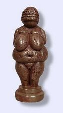 Venus of Willendorf Neolithic Goddess Talisman Cold Cast Bronze Mini Statue #BZW