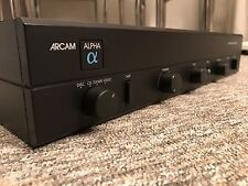 Arcam Alpha 2 Integrated Hifi Amplifier Made In Uk Separate Amp Vintage
