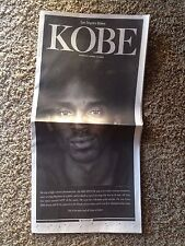 Kobe Bryant Los Angeles Times 4/17/16 Retirement Insert FULL COLOR RARE Lakers