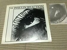 "INSULIN REACTION WITCHFINDER GENERAL 7"" SINGLE USA 87 GOTH ROCK POST PUNK INSERT"
