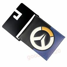 Game Overwatch PU Wallet Purse Bifold Coin Bag Gift