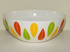 Dansk The Burbs Melamine 9.5 - 3 Qt  Large Party / Mixing Bowl - Lotus Design