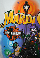 HARLEY-DAVIDSON Mardi Gras Joker Party Girls T Shirt NWT Men's L Party Street