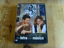 Como nuevo - DVD de la película TÚ LA LETRA YO LA MÚSICA - Item For Collectors