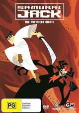 Samurai Jack the Movie - Makoto Iwamatsu NEW R4 DVD