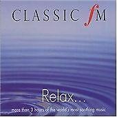 Classic Fm: Relax 3-Cd {Various Composers} Brand New & Factory Sealed
