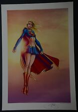 Supergirl Michael Turner Aspen Art Print