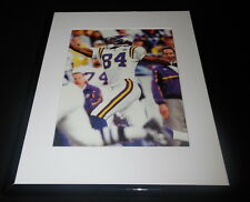 Randy Moss One Handed Catch Minnesota Vikings Framed 11x14 Photo Display