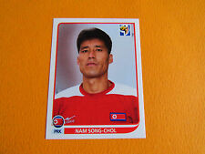 512 SONG-CHOL COREE NORD DPR PANINI FOOTBALL FIFA WORLD CUP 2010 COUPE MONDE