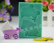 3D Baby Car Fondant Molds Cake Sugareraft Moulds Set A