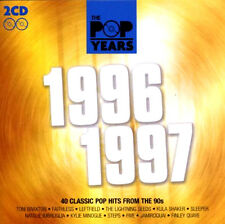 THE POP YEARS 1996 ~ 1997 NEW AND SEALED 2 CD * 40 ORIGINAL 90's GREATEST HITS*