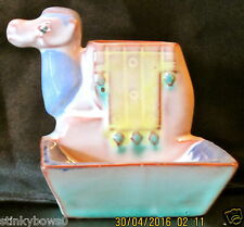 "RARE GOEBEL ART DECO ASHTRAY, ""CAMEL"", MOLD # RT 936 DEP, TMK 1 CROWN, MV $150"