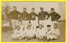 cpa CARTE PHOTO TOUL Soldats du 37e Régiment en 1910 Militaires Poilus Uniformes