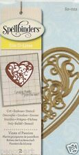 Spellbinders Die D-Lites cut emboss stencil Vines of Passion S2-022 2pc