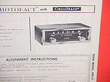 1964 1965 TITAN AUTO CAR FM CONVERTER RADIO SERVICE SHOP MANUAL MODEL FMC-4