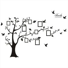 Big 95AB Photo Frame Family Tree Wall Decal Sticker Kids Room Bedroom Home Decor