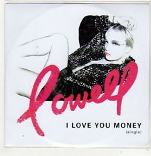 (FJ575) Lowell, I Love You Money - 2014 DJ CD