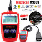 Car Fault Code Reader Engine Diagnostic Scanner Reset Tool OBD 2 CAN BUS EOBD UK