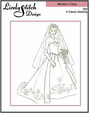"A Classic Wedding / pattern for 21"" Modern Cissy by Madame Alexander"