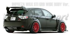 FRP VS Style Rear Spoiler with Carbon Blade For 08-10 Subaru Impreza  GRB STI