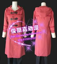 No. 6 Shion Red Halloween Long Coat Daily Suit Set Cosplay Costume J001